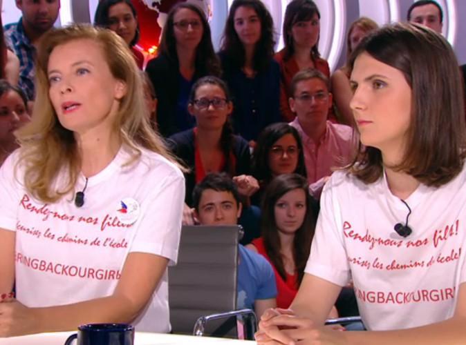 Valérie Trierweiler : engagée, elle commente la mobilisation de Julie Gayet à Cannes !