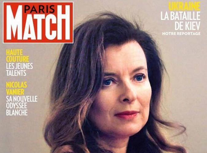 """Valérie Trierweiler : l'ex-première dame continue de se confier... """"Quand j'ai su, j'ai cru tomber d'un gratte-ciel"""" !"""