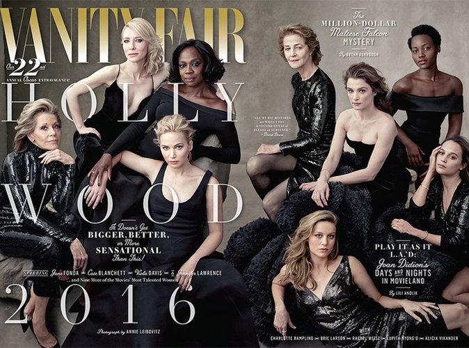 Vanity Fair US : la couverture spéciale Hollywood met à l'honneur la diversité !