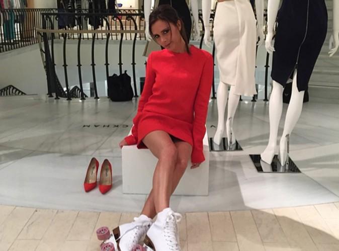 Victoria Beckham : mannequin de sa propre collection !