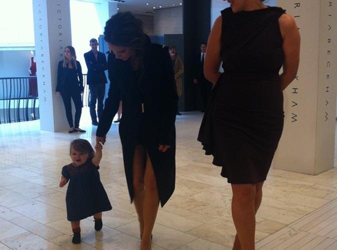 Victoria Beckham : sa petite Harper vient tout juste de faire ses premiers pas !