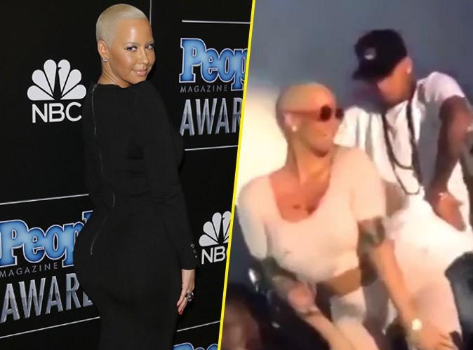 Amber Rose : elle s'attaque � Chris Brown avec un twerk endiabl� !