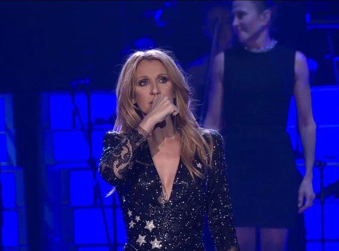 Vidéo : Céline Dion de retour sur scène : son vibrant hommage à René Angélil...