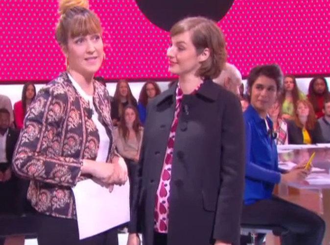 Vidéo : Enceinte, Louise Bourgoin fait une apparition remarquée sur Canal+