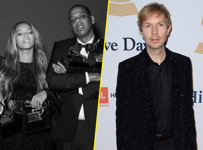 Grammy Awards 2015 : Kanye West sur sc�ne... Coup de stress pour Beyonc� et Jay Z, Beck encaisse !