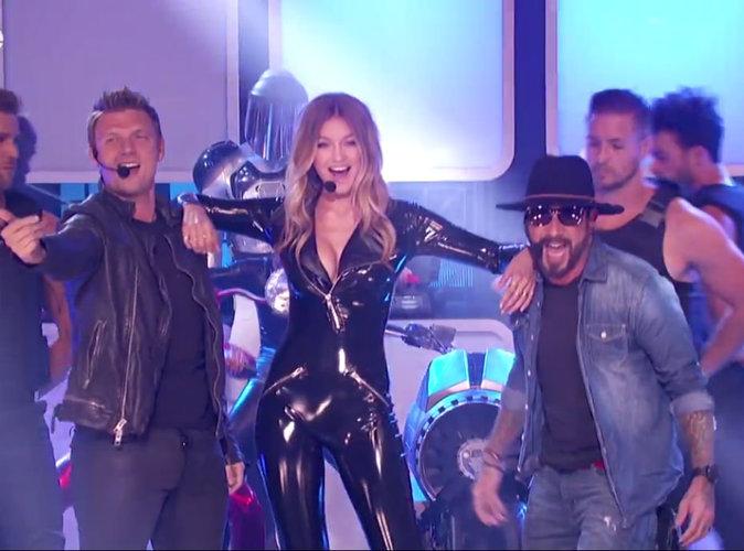Vidéo : Lip Sync Battle : Gigi Hadid est la plus sexy des Backstreet Girls!