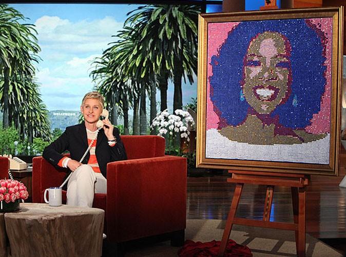 Vidéo : Oprah Winfrey : elle a été gâtée par Ellen DeGeneres pour ses 60 ans...