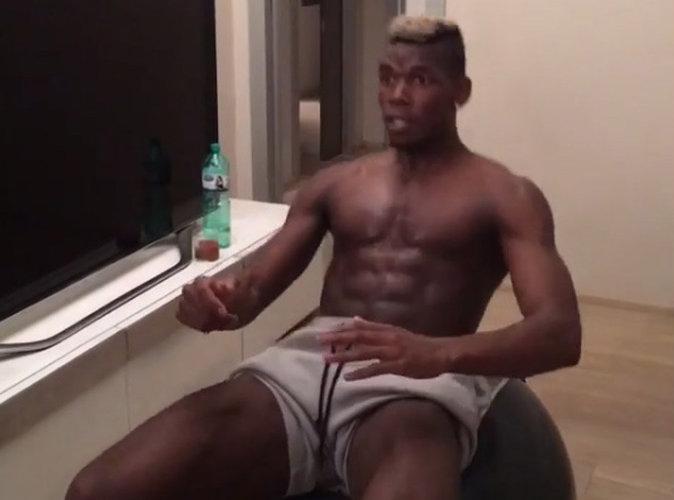 Vidéo : Paul Pogba : En pleine séance de boxe, il affiche son corps d'athlète !