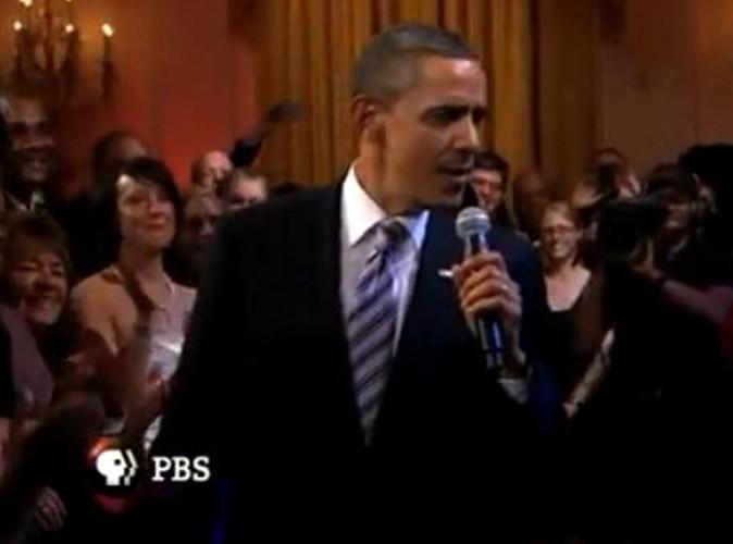 Vidéo : Barack Obama : il fait le buzz en chantant du blues à la Maison Blanche !