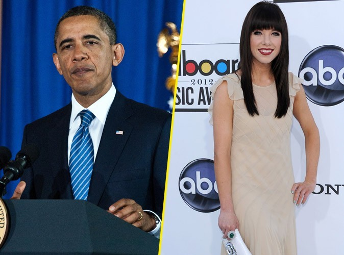 "Vidéo : Barack Obama : sa folle reprise de ""Call Me Baby"", le tube de Carly Rae Jepsen !"