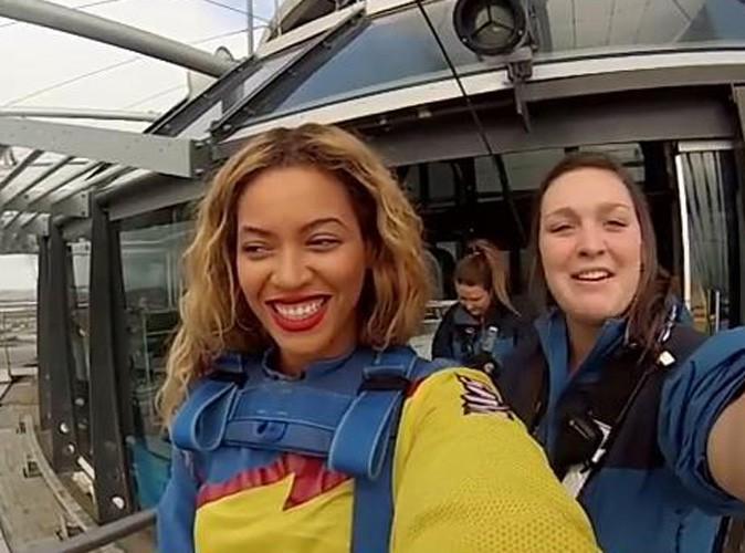 Vidéo : Beyoncé : regardez la se jeter dans le vide en Nouvelle-Zélande !