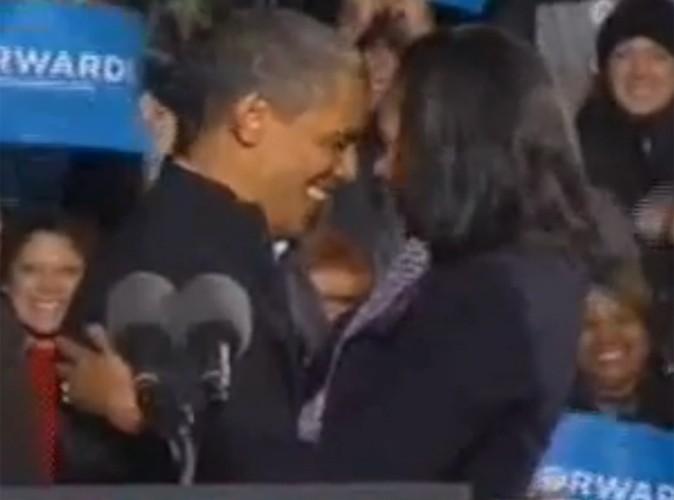 Video Buzz : Barack + Michelle = Amour !