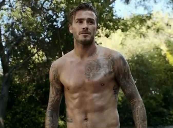 """Vidéo : David Beckham : un Apollon en plein effort qui se dévoile scandaleusement """"hot"""" pour H&M !"""