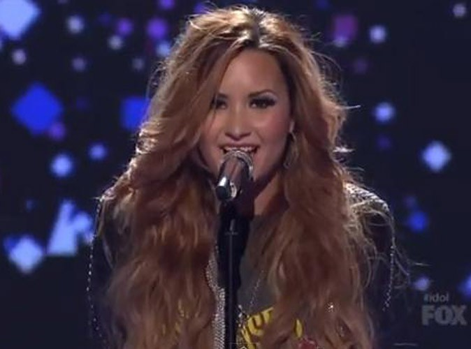 Vidéo : Demi Lovato prouve une nouvelle fois qu'elle assure en live sur le plateau d'American Idol !