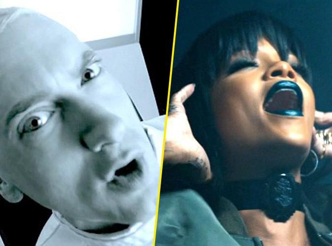 """Vidéo : Eminem : patient torturé d'une Rihanna ultra hot dans le clip intégral de """"The Monster"""" !"""