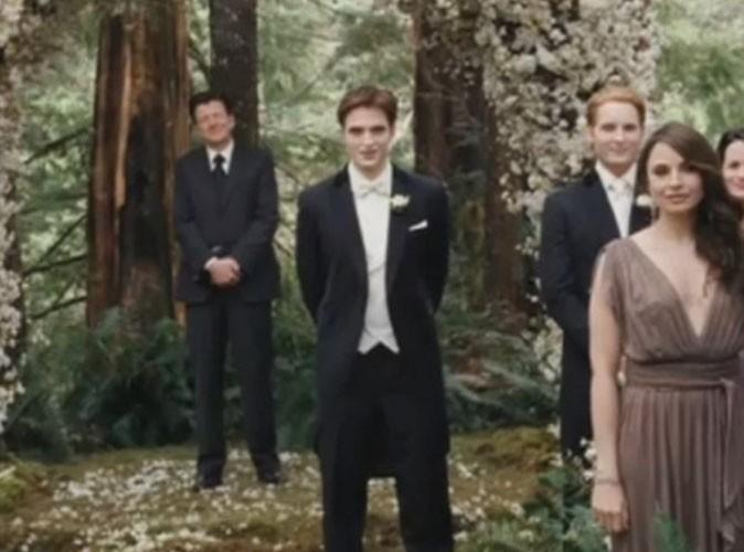 Vidéo : enfin le mariage de Robert Pattinson et Kristen Stewart dans Twilight Révélation !