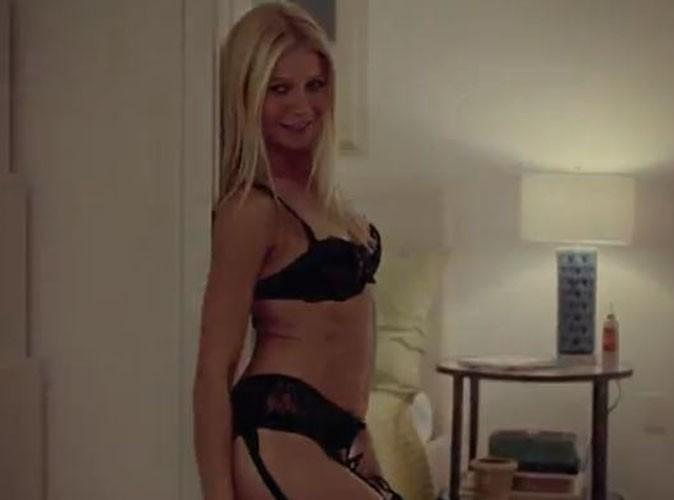 Video : Gwyneth Paltrow : hot en lingerie dans la bande-annonce de Thanks for sharing !