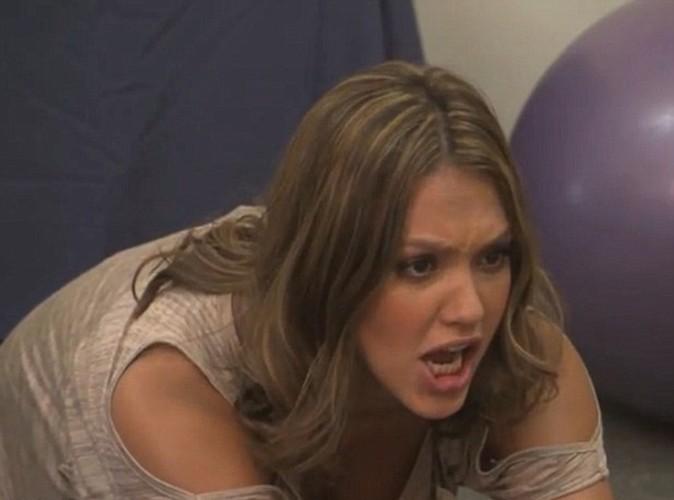 Jessica Alba déchaînée pour l'accouchement de Jimmy Kimmel !