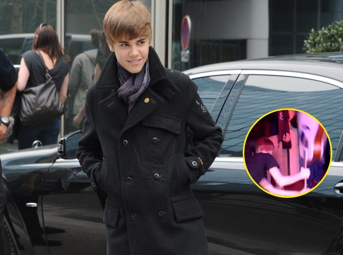 Video : Justin Bieber joue les rock stars chez Nikos !