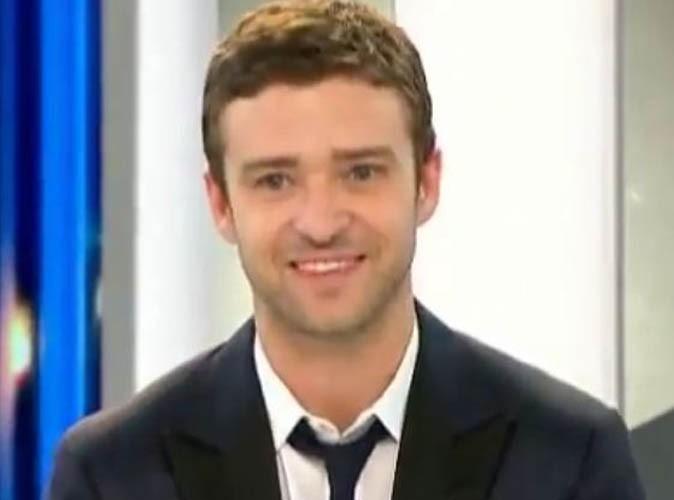 Vidéo : Justin Timberlake, un garçon sage et poli au JT de France 2 !