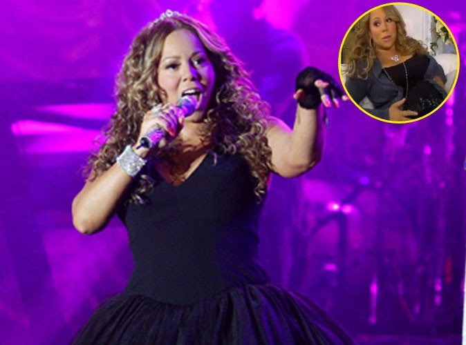 Vidéo : Mariah Carey en pleine promo depuis son canapé !