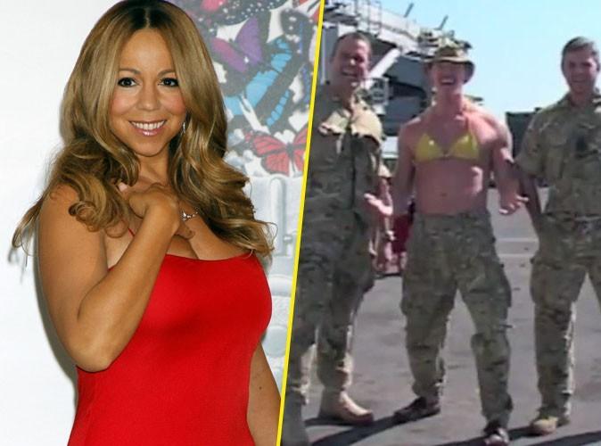 Vidéo : Mariah Carey : sa chanson reprise par des marins l'a bien fait rigoler !