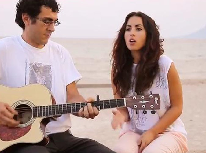 "Vidéo : Maude (Les Anges 5) : elle propose une version acoustique de ""Love Is What You Make of It"" !"