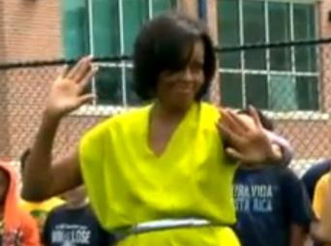 Vidéo : Michelle Obama : Une première dame qui sait bouger ses hanches comme personne...