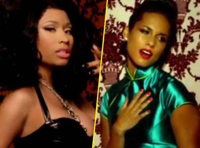 Vidéo : Nicki Minaj et Alicia Keys : en duo les filles mettent le feu !