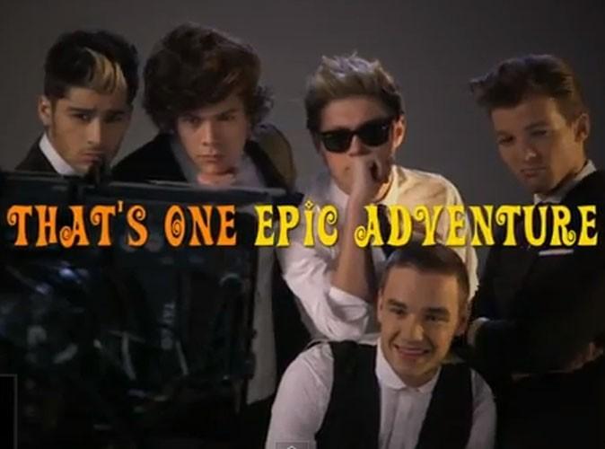 """Vidéo : One Direction : découvrez le premier extrait du clip de """"Kiss You"""" !"""