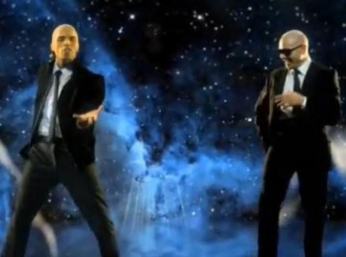 Vidéo : Pitbull et Chris Brown : Men In Black de l'amour pour leur clip !