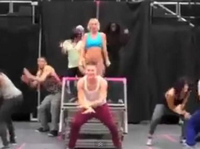 Video : regardez Britney Spears en pleine répétition de sa tournée !