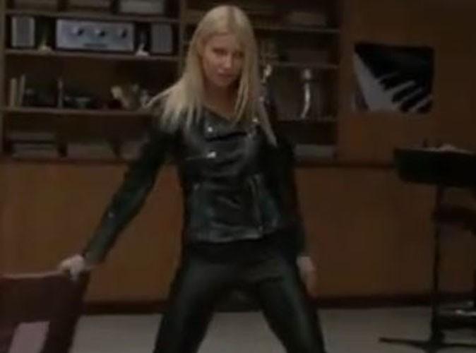 Video : Regardez Gwyneth Paltrow qui se lâche dans Glee !