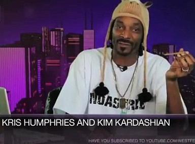 """Vidéo : Snoop Dogg : """"Kim Kardashian est une s***** frigide !"""""""