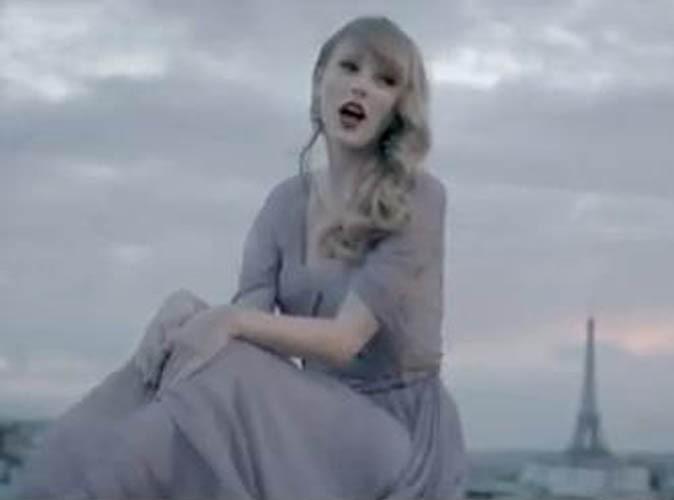 """Vidéo : Taylor Swift : le clip de sa ballade """"Begin Again"""" tourné à Paris !"""