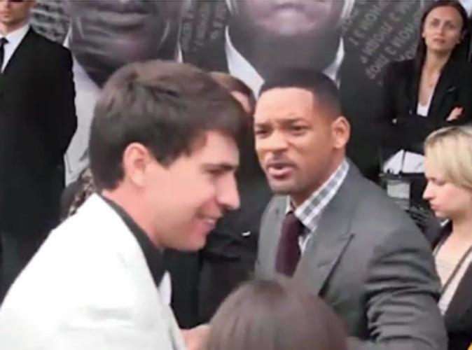 Vidéo : Will Smith : il gifle un journaliste sur le tapis rouge !