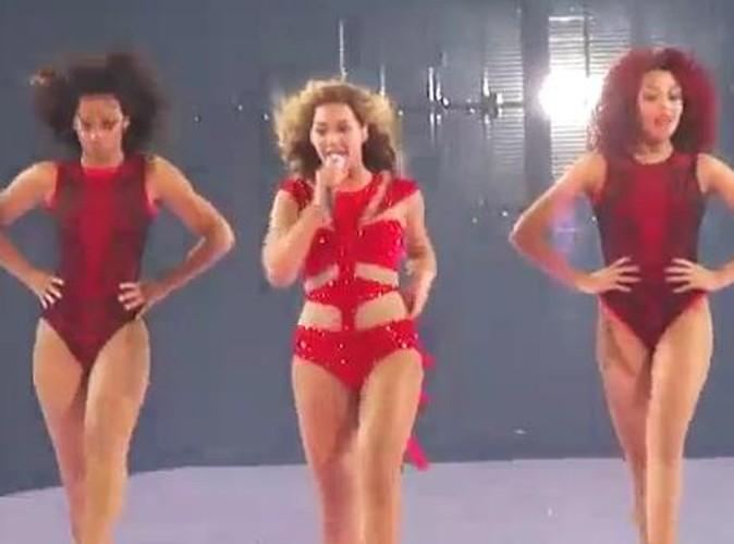 Vidéos : Beyoncé : son grand retour sur scène depuis son accouchement !