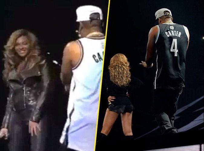 Vidéos : Jay-Z : il a pris le métro pour se rendre à son dernier concert à Brooklyn où il a accueilli sa célèbre femme Beyonce sur scène !