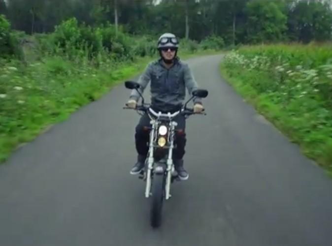 Moto chez Orelsan...