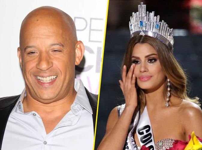 Vin Diesel et Miss Colombie en couple…..