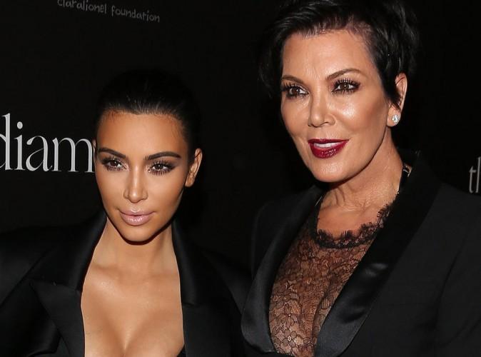 Violente altercation entre Kim Kardashian et Kris Jenner !