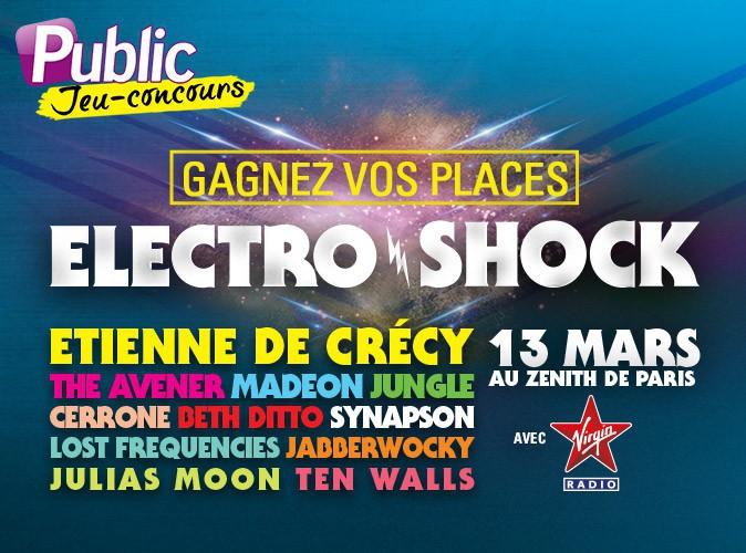 Virgin Radio réunit le meilleur de l'électro pour sa soirée ElectroShock... Gagnez vos places !