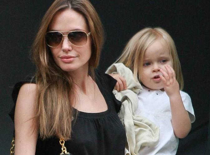 Vivienne Jolie-Pitt : à trois ans, la fille des Brangelina se met au rouge à lèvres !