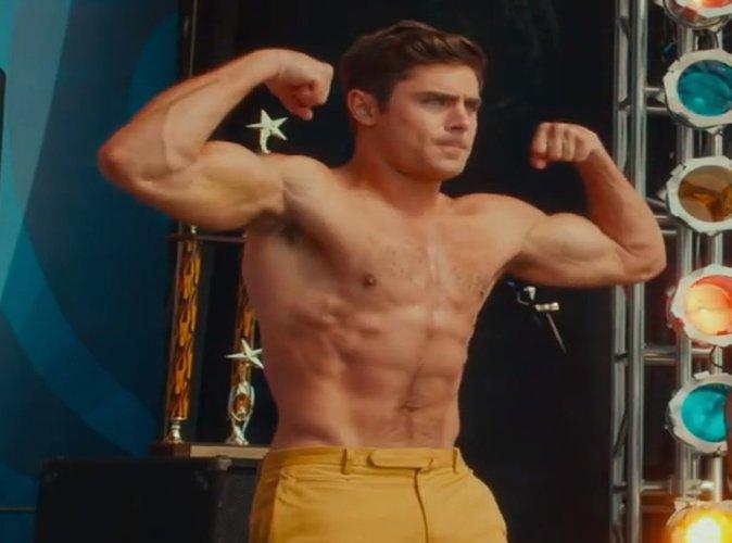 Zac Efron : Tout en muscles, il est plus sexy que jamais dans son nouveau film !