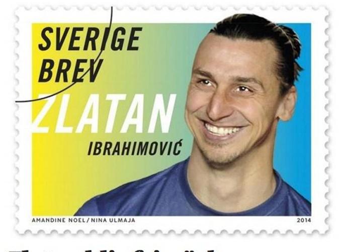 Zlatan Ibrahimovic : et maintenant, il est timbré !