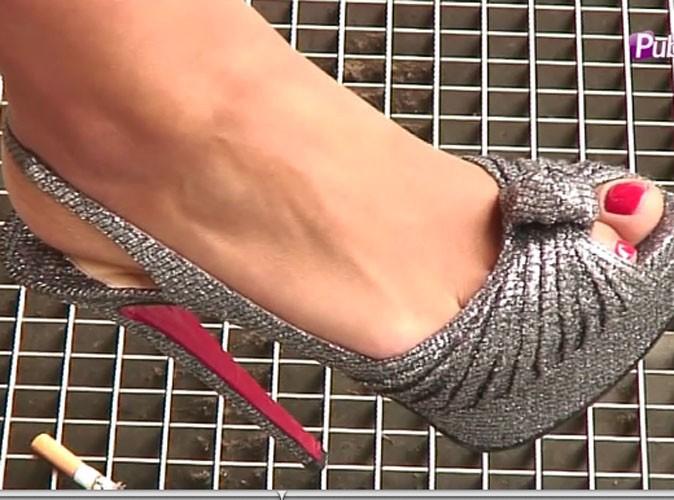 les chaussures louboutin de nabilla