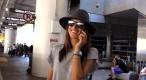 Exclu Vidéo : Alessandra Ambrosio : un Ange de retour à Los Angeles !