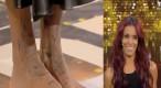 Public Zap : Les pieds de Shy'm intégralement tatoués : In ou out ?