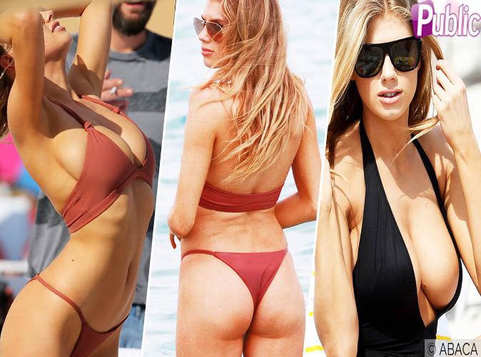 Charlotte McKinney : son week-end très sexy à Miami !