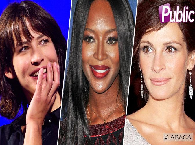 Sophie Marceau, Naomi Campbell, Julia Roberts... Découvrez leurs secrets pour ne pas vieillir !